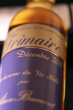 Château Bouscassé  Frimaire 2001