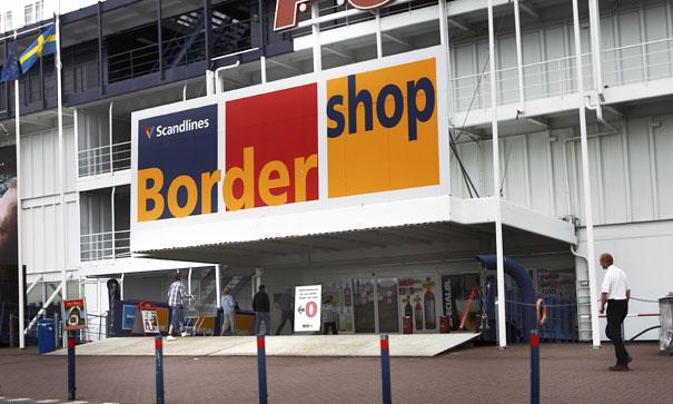 bordershop tyskland åbningstider