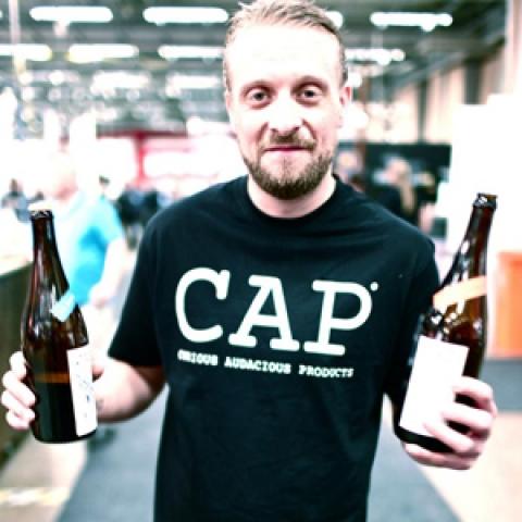 Cap brewery Mattias Hammerlind