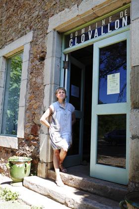 Catherine Roque på Domaine Clovallon