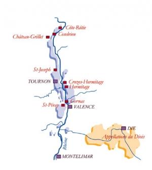 Norra Rhonedalen - crus septentrionaux