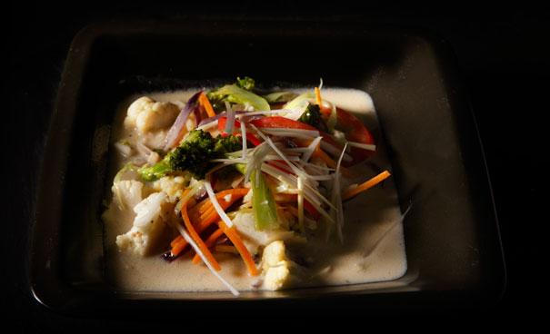 Grön Curry thai recept