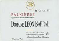 Leon Barral Faugeres 2006