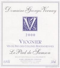 VDP Viognier Le Pied de Samson 2006
