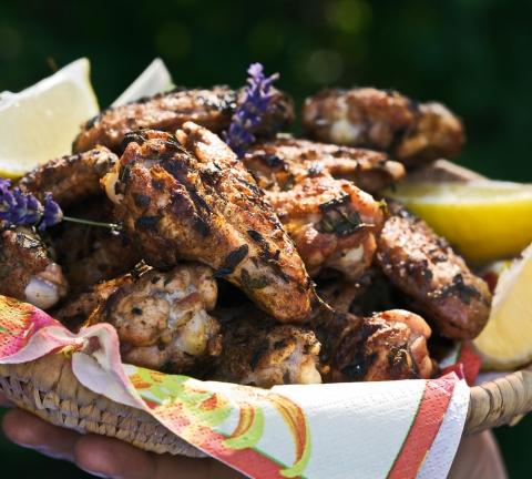 Recept Kycklingvingar