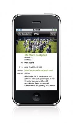 Infosida exempel Meåfors Getgård