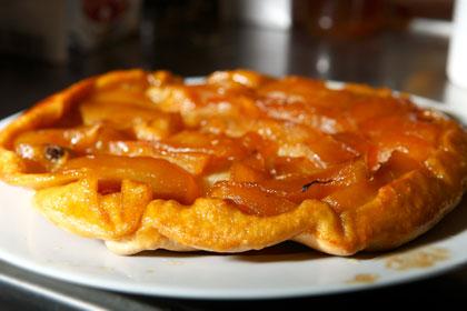 Recept: Fransk äppelkaka - tarte tatin