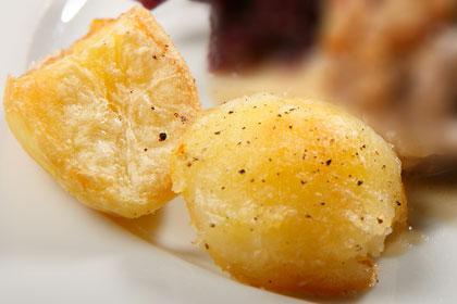 Knaprig potatis