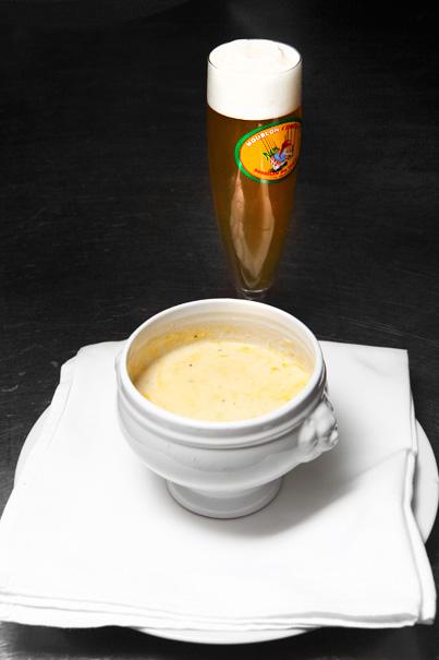 Blomkålssoppa med belgisk ale