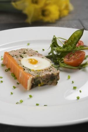 Påskpaté med kokt ägg recept