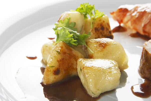 Potatisgnocchi med örter
