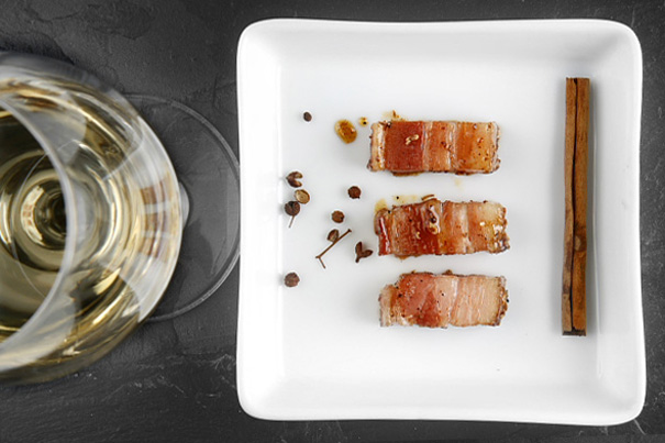 Honungsglaserad grissida med kanel