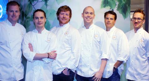 Lamm från årets kockfinalister
