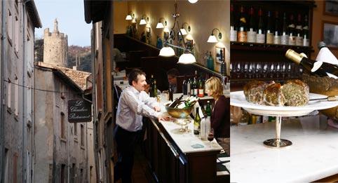 Le Chaudron – vin och vildsvin