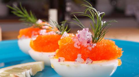 Läckra påskägg med svenska smaker