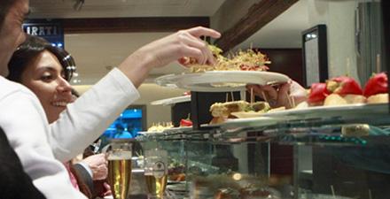 Pintxos-baskiska delikatesser
